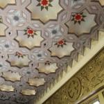 天井 抽象模様